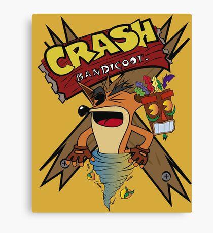 Old Timey Crash Bandicoot Canvas Print