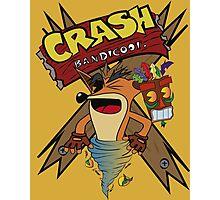 Old Timey Crash Bandicoot Photographic Print