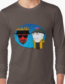 Aqua Teen Breaking Bad Long Sleeve T-Shirt