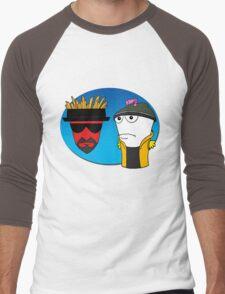 Aqua Teen Breaking Bad Men's Baseball ¾ T-Shirt