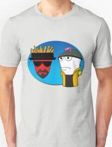 Aqua Teen Breaking Bad Unisex T-Shirt