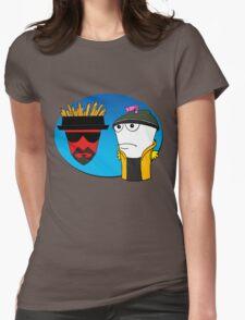 Aqua Teen Breaking Bad Womens Fitted T-Shirt