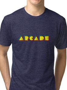 Arcade Retro Tri-blend T-Shirt