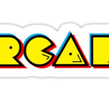 Arcade Retro Sticker