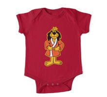Hong Kong Phooey Standing White One Piece - Short Sleeve