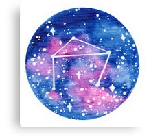 Libra Constellation Canvas Print