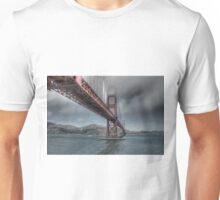 Golden Gate Bridge (Landscape) Unisex T-Shirt