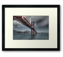 Golden Gate Bridge (Landscape) Framed Print