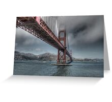 Golden Gate Bridge (Landscape) Greeting Card