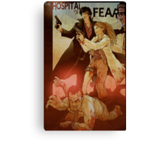 Sherlolly - The Hospital of Fear Canvas Print