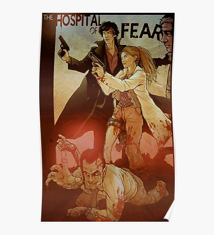 Sherlolly - The Hospital of Fear Poster