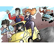Lupin III Car Chase Photographic Print