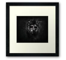 The Undead King Framed Print