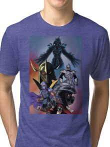 TMNT Shredder Tri-blend T-Shirt