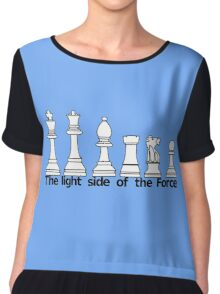 The Light Side Of The Force Chiffon Top