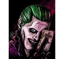 Joker Damaged Photographic Print