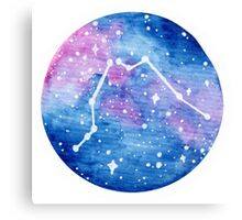Aquarius Constellation Canvas Print