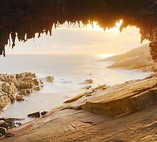 Admirals Arch, Kangaroo Island, South Australia by Michael Boniwell
