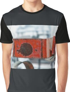 Rusty Red Boxes Graphic T-Shirt