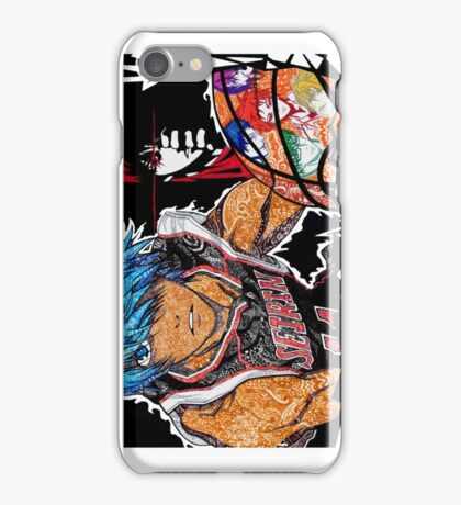 kuroko no basket doodle iPhone Case/Skin