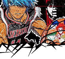 kuroko no basket doodle by Pandora's  Scribbles