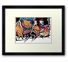 kuroko no basket doodle Framed Print