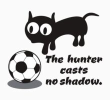 Cat Hunting a Ball by piedaydesigns
