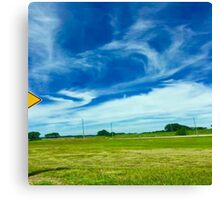Sky So Blue Canvas Print