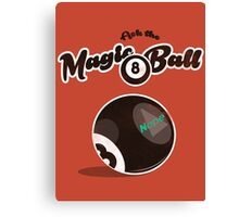 Magic Ball 8 Canvas Print