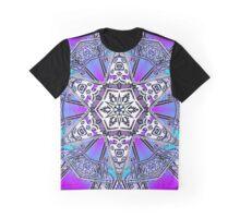Mayan Snowflake Graphic T-Shirt