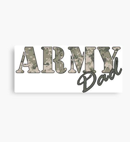 Army Dad Canvas Print