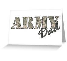 Army Dad Greeting Card