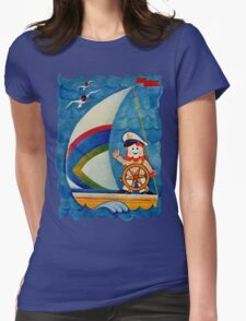 Set Sail  Womens Fitted T-Shirt