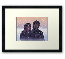 Caryl - Winter Challenge Framed Print
