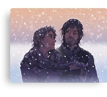 Caryl - Winter Challenge Canvas Print