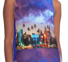 South Beach Shirt Contrast Tank