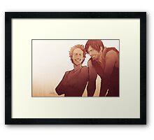 Caryl - Emotion Challenge Framed Print