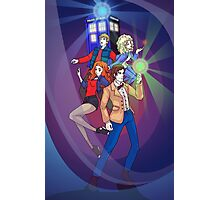 The Ponds - Anime Style Photographic Print