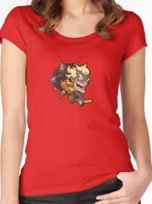 OVERWATCH CUTE JUNKRAT Women's Fitted Scoop T-Shirt