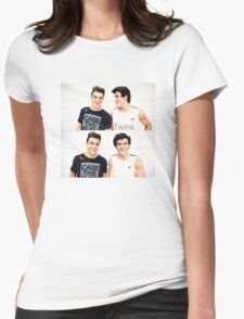 Grayson and Ethan happy <3 Womens Fitted T-Shirt