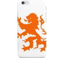 dutch lion iPhone Case/Skin