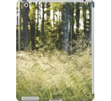 Finnish forest iPad Case/Skin