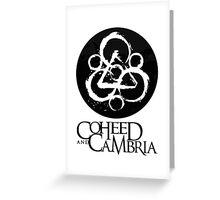 Coheed Cambria Band Greeting Card