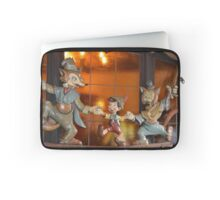 A Fox, A Cat, A Wooden Boy, Marionette Puppet Boy  Laptop Sleeve