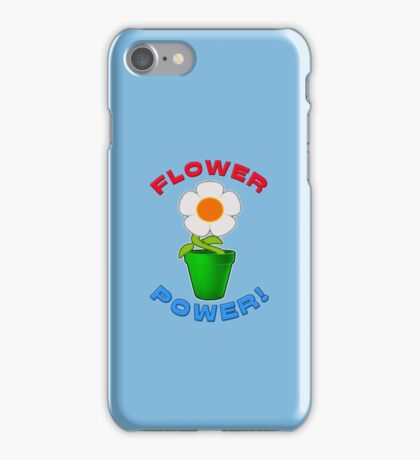 Flower Power! iPhone Case/Skin