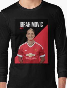 Zlatan Ibrahimovic MU Long Sleeve T-Shirt