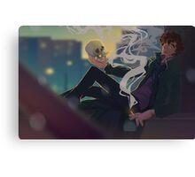 Sherlock - Rooftop  Canvas Print