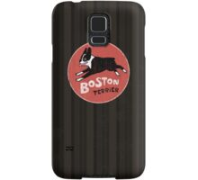 Boston Terrier Retro Style Samsung Galaxy Case/Skin
