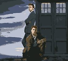 Doctor Who and Jack by DeadEye24