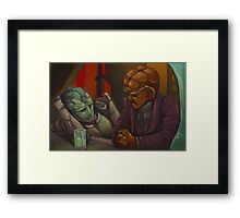 The Deep Space Effect Framed Print